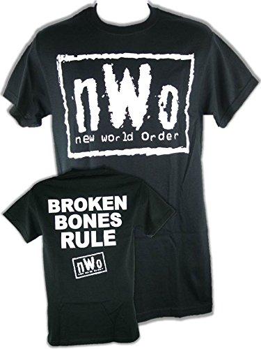 Unbekannt T-Shirt NWO Broken Bones Rule Retro Bis 5XL !, Gr.:XL - Nwo-t-shirt