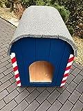 Cuccia Bau carrello Keks dente di leone cani casa garage maehroboter in legno massiccio, 60x 70cm