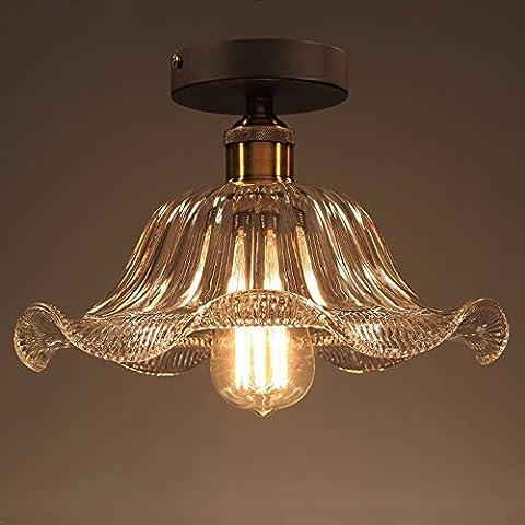 Las luces del techo de cristal creativas, PASILLO pasillo de luces, luces, con forma de flor de loto porche alumbrado,20cm de diámetro pequeño