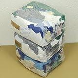 Rehberg´s 30 kg Putzlappen geschnitten aus gewebten bunten Baumwollstoffen Standard-Putzlappen Putztücher