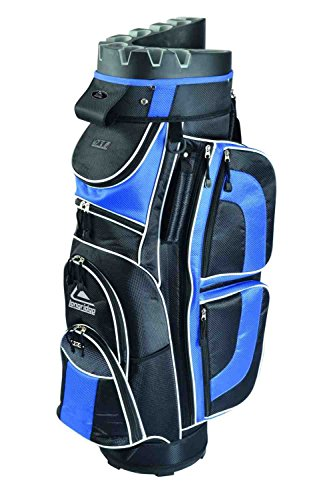 Longridge Eze Kaddy Pro Sac de golf Bleu/Noir
