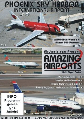 Air Utopia Amazing Airports - Phoenix Sky Harbour Airport DVD