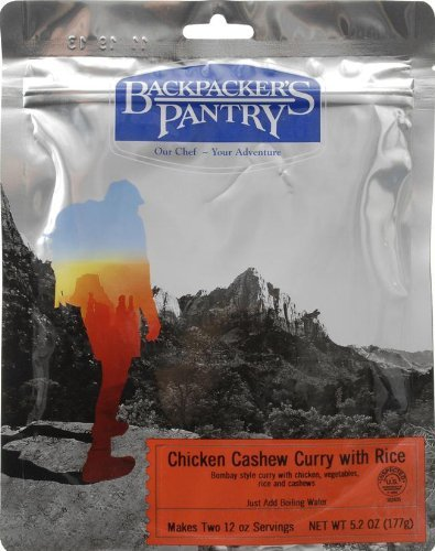 Backpacker's Pantry Chicken Cashew Curry, Two Serving Pouch by Backpacker's Pantry