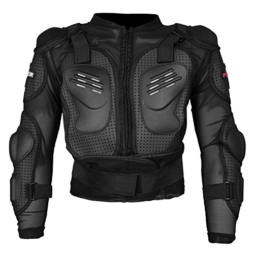 Giacca moto armatura Full Body Protector di abbigliamento Strong mountain bike ciclismo motocross downhill Body sport di Gear giacca camicia (XL)