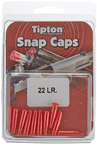 """Tipton , Douilles Amortisseur """"Snap Cap"""" ,22 LR Transparent, Lot de 10"""