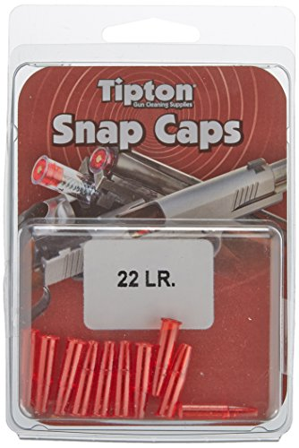 Tipton 22LR Gewehr Snap-Kappen (10Stück)–Transparent Cap Guns St