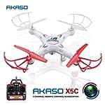 AKASO X5C 4CH 2.4GHz 6-Axis RC Quadco...