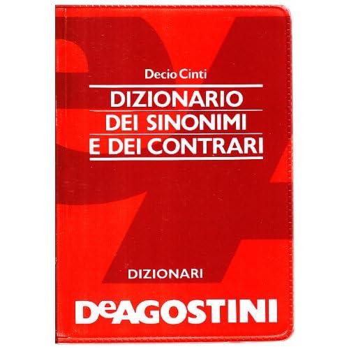 Dizionario Tascabile Dei Sinonimi E Dei Contrari