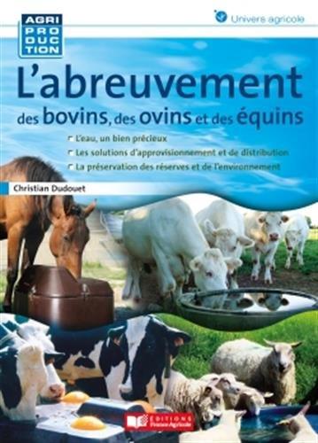 L'abreuvement des bovins, des ovins et des quins