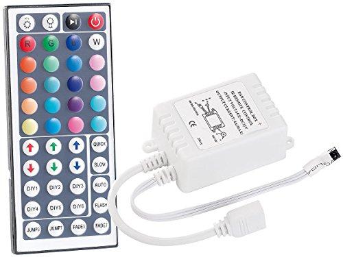 Lunartec Zubehör zu LED-Streifen biegsam: Fernbedienung für LED-Streifen der Serie LC, programmierbar (LED Strips)