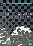 Locke, droit naturel et propriété