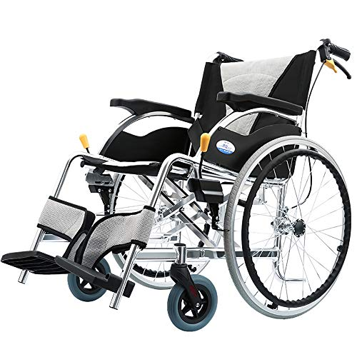 Tragbare Toilette Stühle (Rollstuhl Tragbare Transport Falten Rollstuhl Tragbare Reise Stuhl Toilette Aluminiumlegierung Behinderte Ältere Reise Trolley)