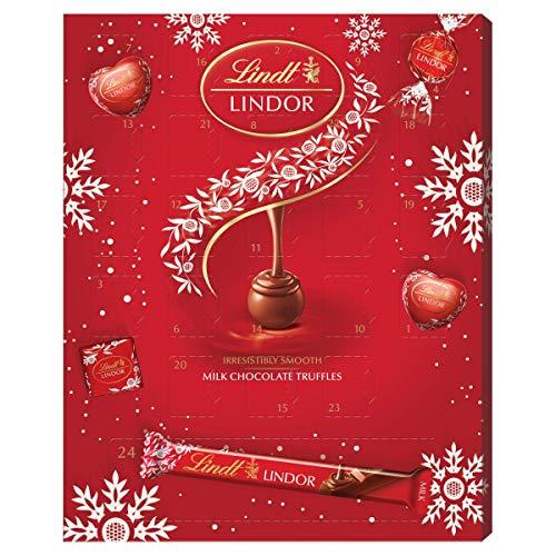 Lindt Lindor Milk Chocolate Adventskalender