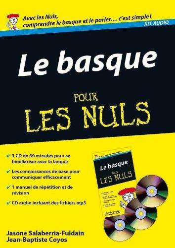 Kit audio Basque Pour les Nuls par Jean-Baptiste COYOS