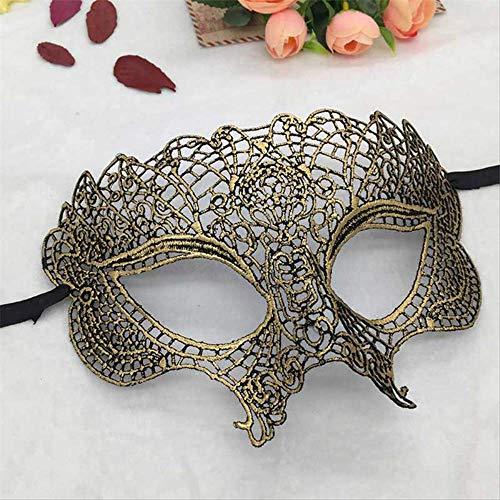 Kostüm Sexy Mardi Gra - Wbdd Maske Gold Augenmaske Für Party Maske Venezianischen Karneval Maskemaske Mardi Gras Spitze Masken Ball Halloween Kleid Sexy Kostüm Maske Augenmaske