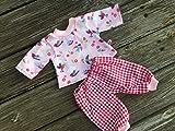 Puppenkleidung handmade Shirt + Hose für Baby Born Annabell Chou Puppen div. Grössen Pyjama...