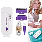 Epilierer Yes Finishing Touch, Haarentferner mit Sensorlicht zur schmerzfreien Haarentfernung