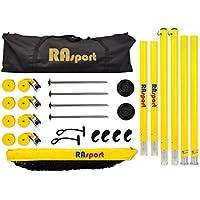 Rasport Beach Voleibol Instalaciones Pro Plus + Cour tlines + Red Antena + Voleibol Wilson