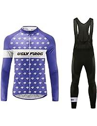 85b744d0e3 Uglyfrog 2016 Manga Larga Maillot+Bib Pantalones Cortos Bodies Ciclismo De  Hombre Verano Ropa De Triatlon Transpirables Cycling Sets…