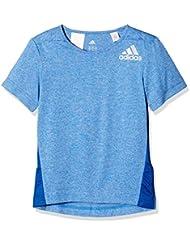 adidas YK R B TEE - T-shirt à manches courtes pour Garçon, Bleu