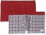 ESPRIT Herren Boxershorts 077EF2T004, Rot (Red 630), Large (Herstellergröße:6)