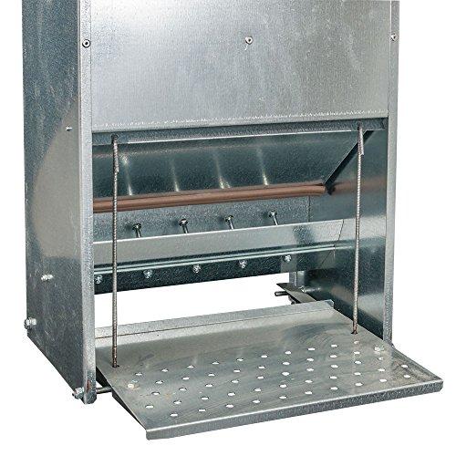 Futterautomat mit Trittklappe 15 kg - 4