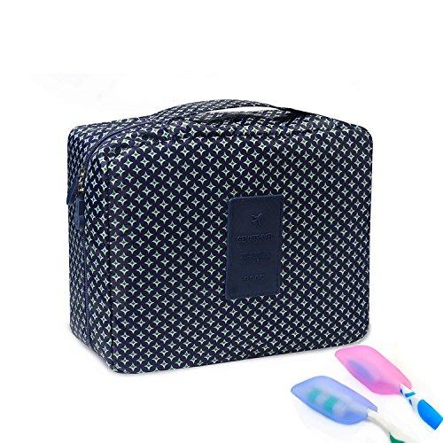 Abaría - Bolsas de aseo (2 piezas), bolsas + silicona portacepillos de dientes para viaje neceseres mujer