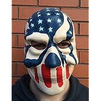 Amerikanische Flagge Schädel Latex Maske Halloween Kostüm The Purge 3 Kostüm