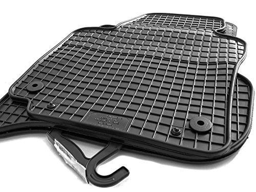 Gummi Fußmatten VW Golf PLUS Original Qualität Auto Gummimatten 4-teilig schwarz