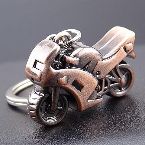 Stillshine - Schlüsselanhänger Halskette hanging Stil Wind Metall Key Ringe Fashion Schlüsselanhänger roman geschenke tasche reize für mädchen (Stil 1)