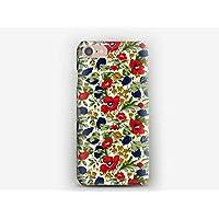 Coque iPhone 7, 7+, 6S, 6, 6S+, 6+, 5C, 5, 5S, 5SE, 4S, 4 Liberty Poppy and Honesty C