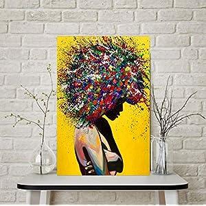 Leinwanddruck,Malerei Auf Leinwand Wandkunst,Sexy Frau Hd Print Abstrakte Poster Nordic Moderne Kreative Wandkunst Leinwanddruck Inkjet Bild Pop Art Für Wohnzimmer Schlafzimmer Wohnkultur