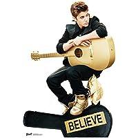 Star Cutouts Pappaufsteller von Justin Bieber Believe