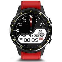 Smart Watch F1 GPS, rastreador de Ejercicios, monitorización del Ritmo cardíaco y la presión