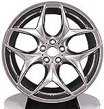 Yx-outdoor Cerchione Cerchi in Lega da 20 Pollici, Offset: 30 35 38 40 42, Fusione a Bassa Pressione Adatto per BMW X5 X6 Acura Land Rover Range Rover (1PC),20 * 9.5J