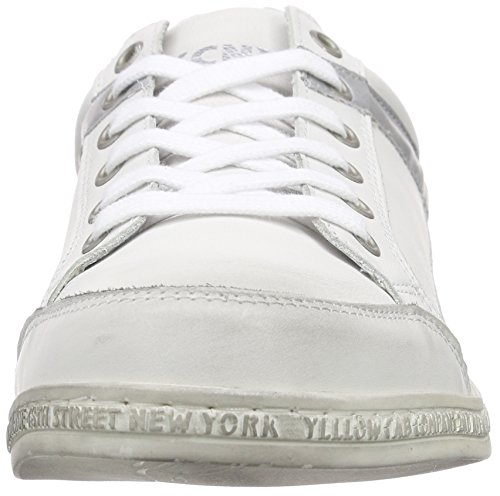 Yellow Cab Pimped Smu, Baskets Basses homme Multicolore - Mehrfarbig (Silver)