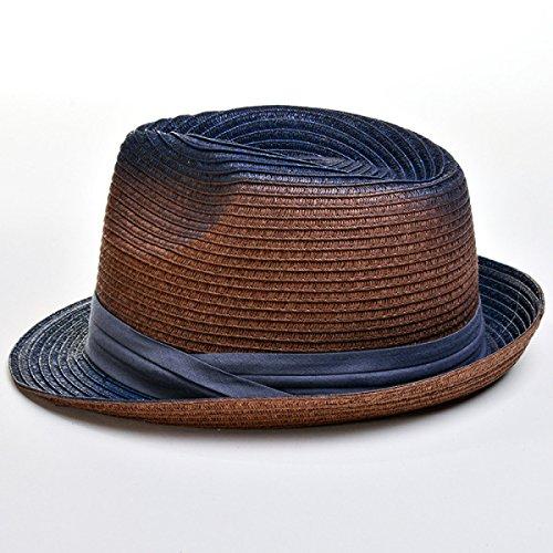 Printemps Et En été Les Hommes Et Les Femmes Chapeau De Paille Populaire Gradient Chapeau De Jazz Chapeaux De Plein Air Café