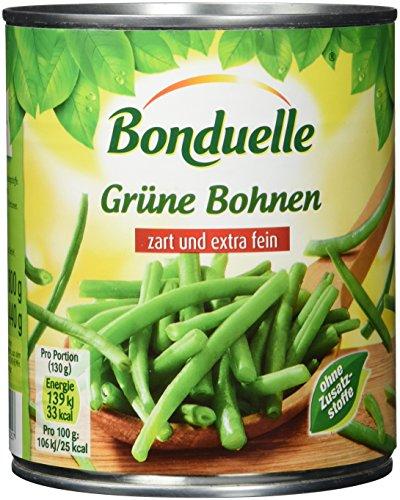 Bonduelle Grüne Bohnen feinste Auslese, 6er Pack (6 x 800 g Dose)