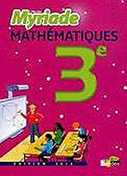 MATHS 3E MYRIADE MANUEL GF 201