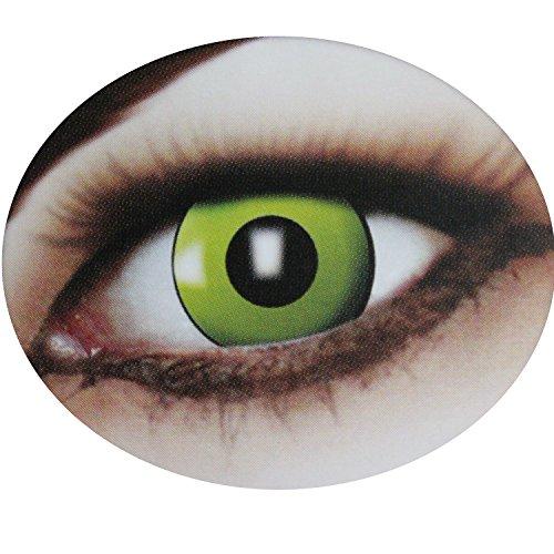 Fun Linsen, 12 Monate haltbar, verschiedene Motive im praktischen Aufbewahrungsbehälter, ohne Stärke, Halloween, Motivlinsen, farbige Kontaktlinsen, bunte Kontaktlinsen, bunt, Crazy Fun Linsen, Scherzartikel