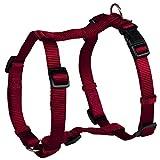Trixie Premium H-Harness für Hunde (M-L) (Bordeaux)