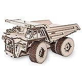 EcoWoodArt 3D-HOLZBAUSÄTZE ohne Klebstoff DIY Funktionsmodelle Holzbausatz Modellbau (BELAZ 75600)