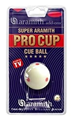 Aramith Pro Cup Tv Snooker Cue Ball 2-116? Size