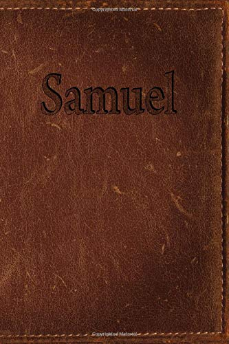 Samuel: Simulated Leather Writing Journal por Rob Cole