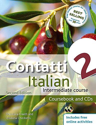 Contatti Italian 2: Intermediate Course [With 2 CDs]