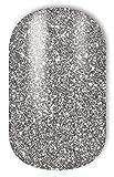 Miss Sophie's silber-glitzer Nagel-Folien Sparkling Stars: Nagel-Design/Nailart/Aufkleber: 20 Nail Wraps:ultra-dünn einfach schnell selbstklebend langanhaltend/Besser als Nagellack/Gel-Lack