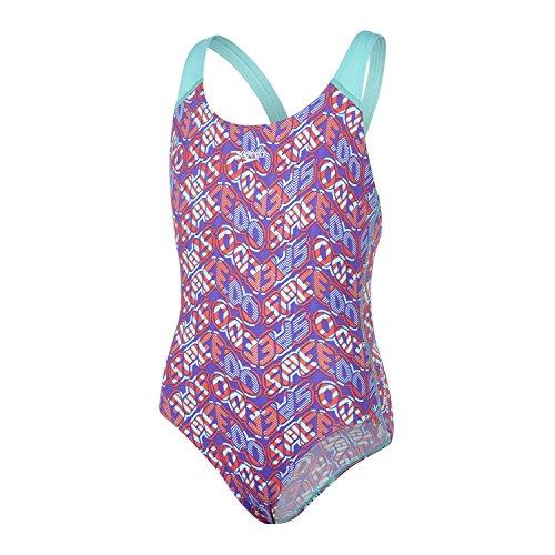 Speedo Mädchen Pop Science Allover Splashback Swimwear
