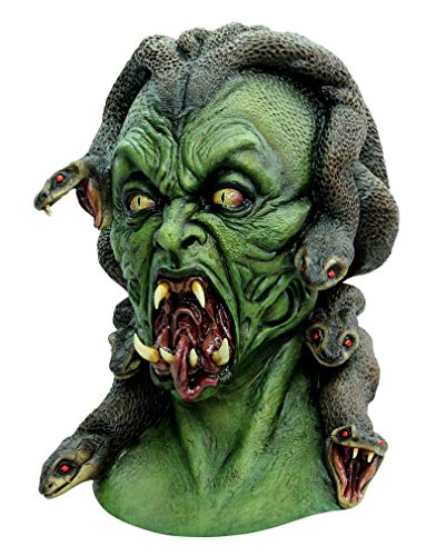 Horror-Shop Medusa Schlangengöttin Maske
