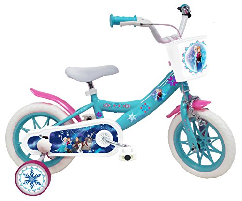 EDEN-BIKES Frozen - Bicicleta Infantil de Frozen de Frozen, 12 Pulgadas