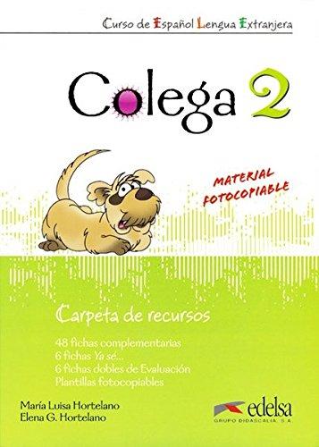 Colega. Carpeta de recursos. Per la Scuola media. Con espansione online: Colega 2 - carpeta de recursos (Métodos - Niños - Colega - Nivel A1.2)